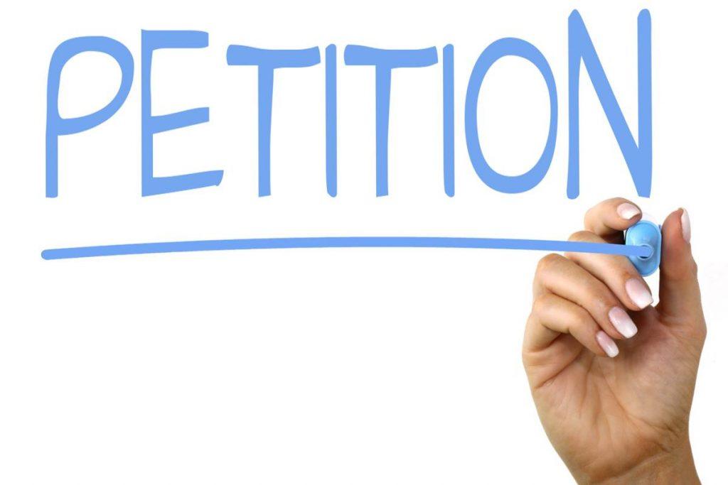 Petition zum Mitzeichnen freigegeben