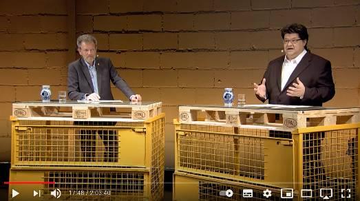"""""""Eine Live-Veranstaltung, die Maßstäbe setzt"""": Drei BAGSV-Vertreter diskutieren mit drei Politiker/innen"""